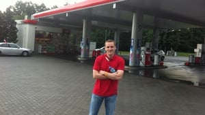 Glenn Mason may have been on the road a little too long as he seems to have developed a rather bizarre fascination with service station forecourts