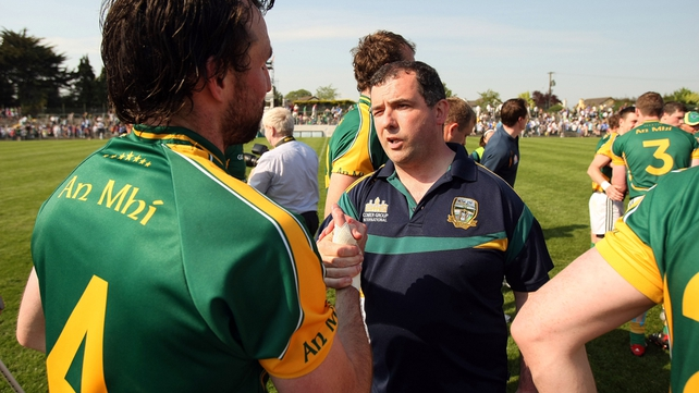 Seamus McEnaney had a turbulent time in charge of the Meath team
