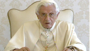 Pope Benedict praised the church in Ireland for its heroic missionaries