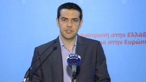 Alexis Tsipras vowed to fight on in opposition