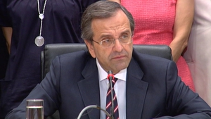 Greek Prime Minister Antonis Samaras says country determined to succeed
