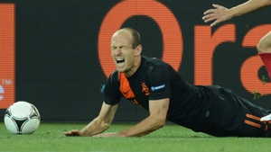 Euro 2012 turned into a painful experience for Arjen Robben and his Netherlands team-mates