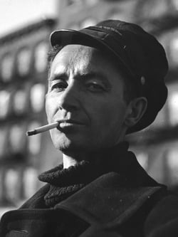 <STRONG>Woody Guthrie<br/></STRONG>Courtesy Getty Images