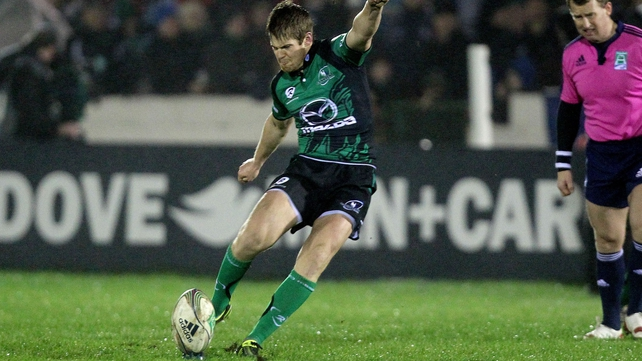 Niall O'Connor is back at Ravenhill