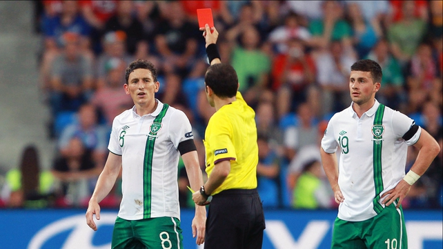 Keith Andrews will miss Ireland's trip to Kazakhstan