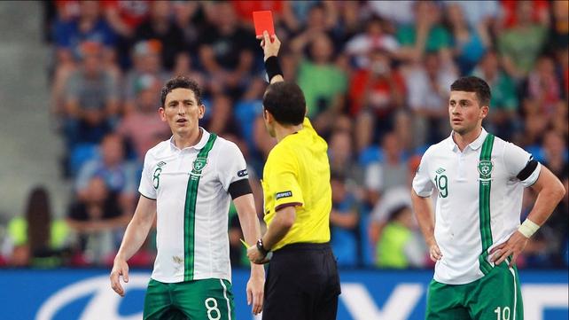 Keith Andrews will miss Ireland's trip to Kazakhstan