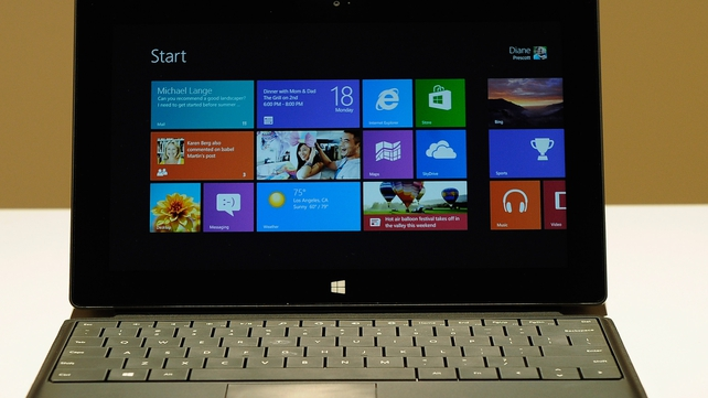 Key three month period of Microsoft as company releases Windows 8 and new Surface