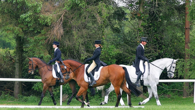 Ireland has been handed two reserve spots for the three-day eventing in London