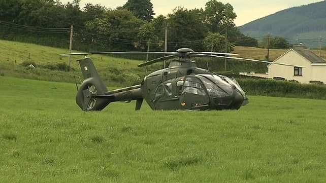 The helicopter struck an ESB power cable, while landing in a field near Borrisoleigh last June