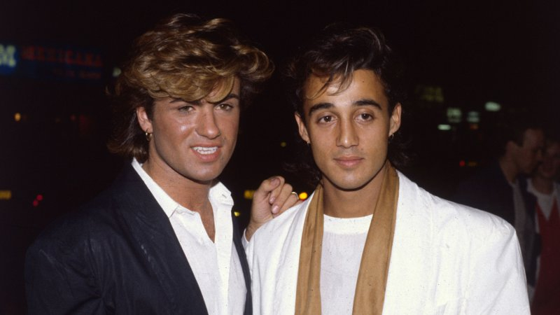 George Michael And Andrew Ridgeley In Their Wham Days