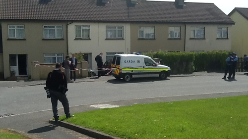 The incident happened at Newtownmountkennedy at around 8.30am
