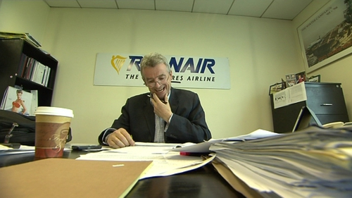 Ryanair chief Michael O'Leary said the offer could create one strong Irish airline group
