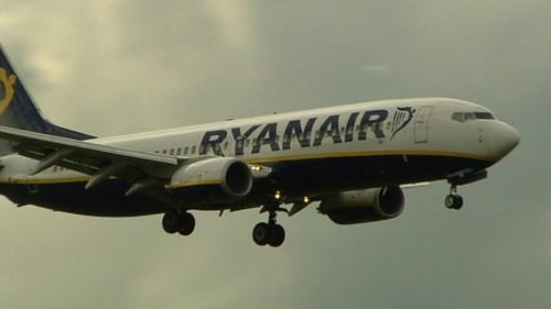 The Ryanair plane that struck the runway on takeoff