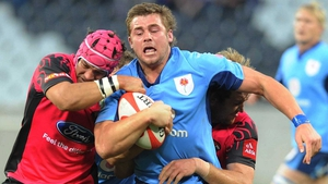 CJ Stander in action for the Bulls