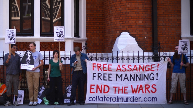 Julian Assange has sought refuge in the Ecuadorian Embassy in London
