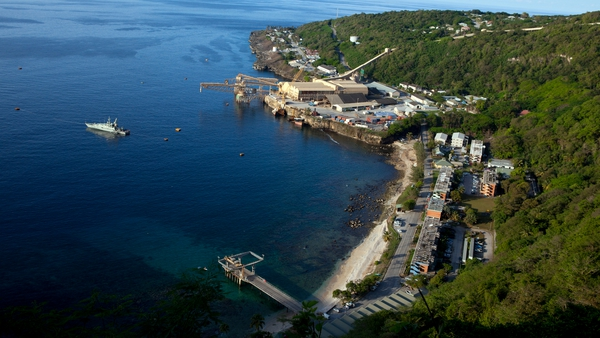 Refugees often try to gain access to Australia via Christmas Island