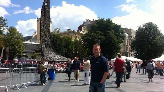 Ed in Lviv