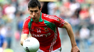 Alan Freeman is part of a strong Mayo full-forward line