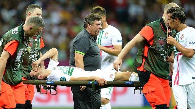 Helder Postiga will miss Portugal's Euro 2012 semi-final