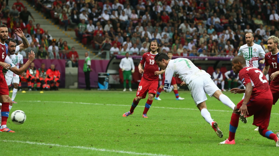 Ronaldo came good for Portugal and his 79th-minute goal was the only score