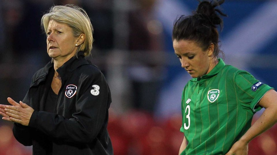 But Sue Ronan's team were beaten 1-0 in Cork and can't qualify now