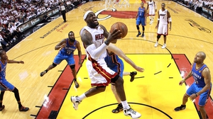 LeBron James beat his previous career best of 56 points