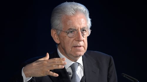 Mario Monti has said he would resign as Italian prime minister once the country's 2013 budget is passed