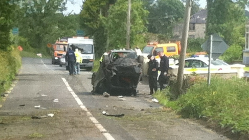 The crash happened at Craane just after midnight
