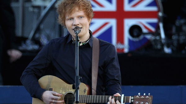 Ed Sheeran: performance denied by Pink Floyd