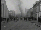The aftermath of the Belfast riots on 15 August, 1969.