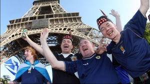 The Scottish fans would have brought a lot of 'atmosphere'