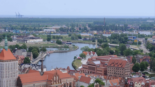 A view of Gdansk