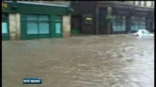 Flood warnings across Scotland and northern England