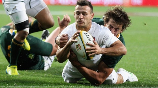 Danny Care in action against South Africa