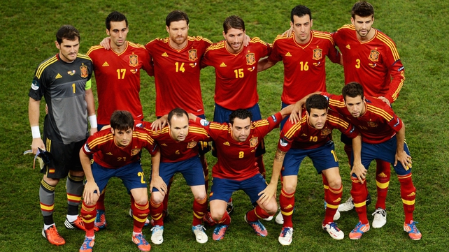 Spain are on course to defend their title
