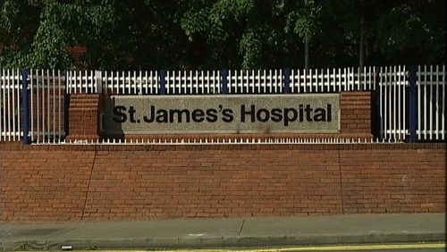 St James's in Dublin is one of the biggest hospitals in the country