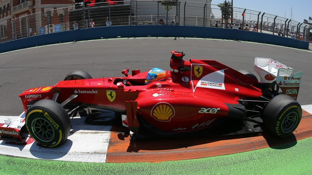 Ferrari's Spanish driver Fernando Alonso clinched his 19th F1 win