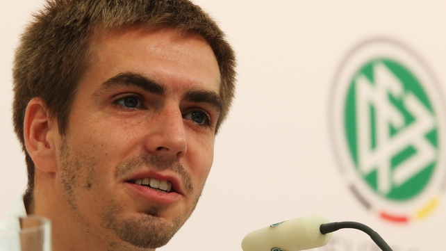 Philipp Lahm believes there is a mole in the Germany camp