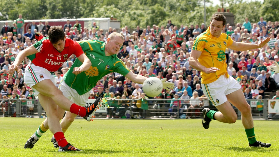 Alan Freeman scored Mayo's first goal against Leitrim in the Connacht semi-final