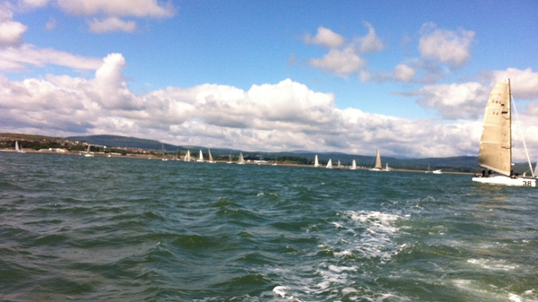 37 boats compete in 1,127km race