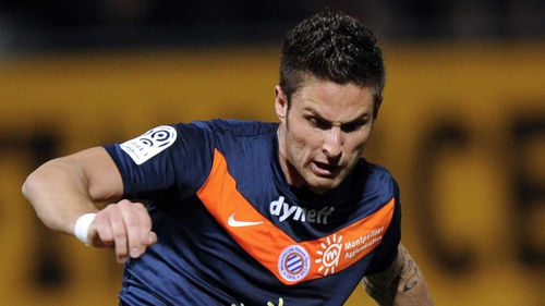 2feb82ae5 Oliver Giroud scored 25 times as Montpellier win their first Ligue 1 title  last season