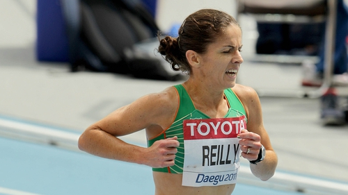 Stephanie Reilly: 3000m steeplechase