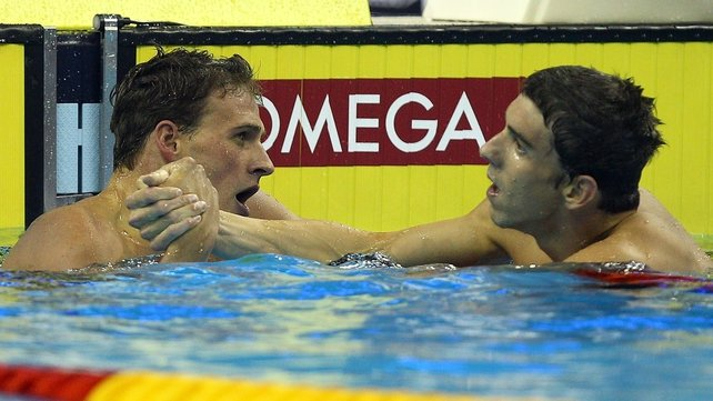 Ryan Lochte is competing in 10 individual events, plus the three relays at the US trials