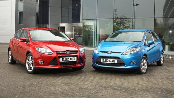 Ford Fiesta and Focus