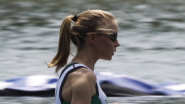 Sanita Puspure will compete in the single sculls in London
