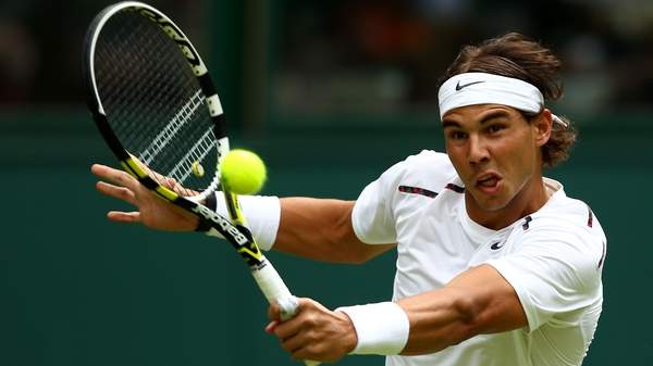 Rafael Nadal recovered from a sluggish start to easily account for Thomaz Bellucci