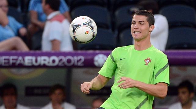 Ronaldo has scored three crucial goals so far in Euro 2012