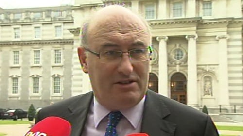 Phil Hogan said Irish Water was spending the money putting systems in place