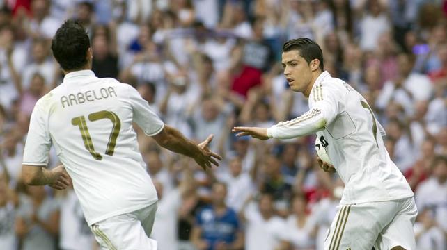 Alvaro Arbeloa and Cristiano Ronaldo will be on opposing sides tomorrow night