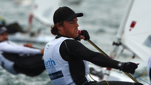 Day 3: James Espey lay 42nd overall in the Laser sailing class